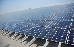Solar panels. Image credit: Pete Jelliffe