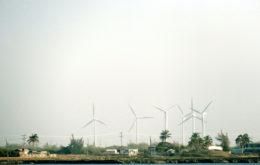 Wind turbines, Cuba. Image credit: Maxence