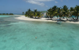 Laughing Bird Caye, Belize. Image credit: Chuck Taylor