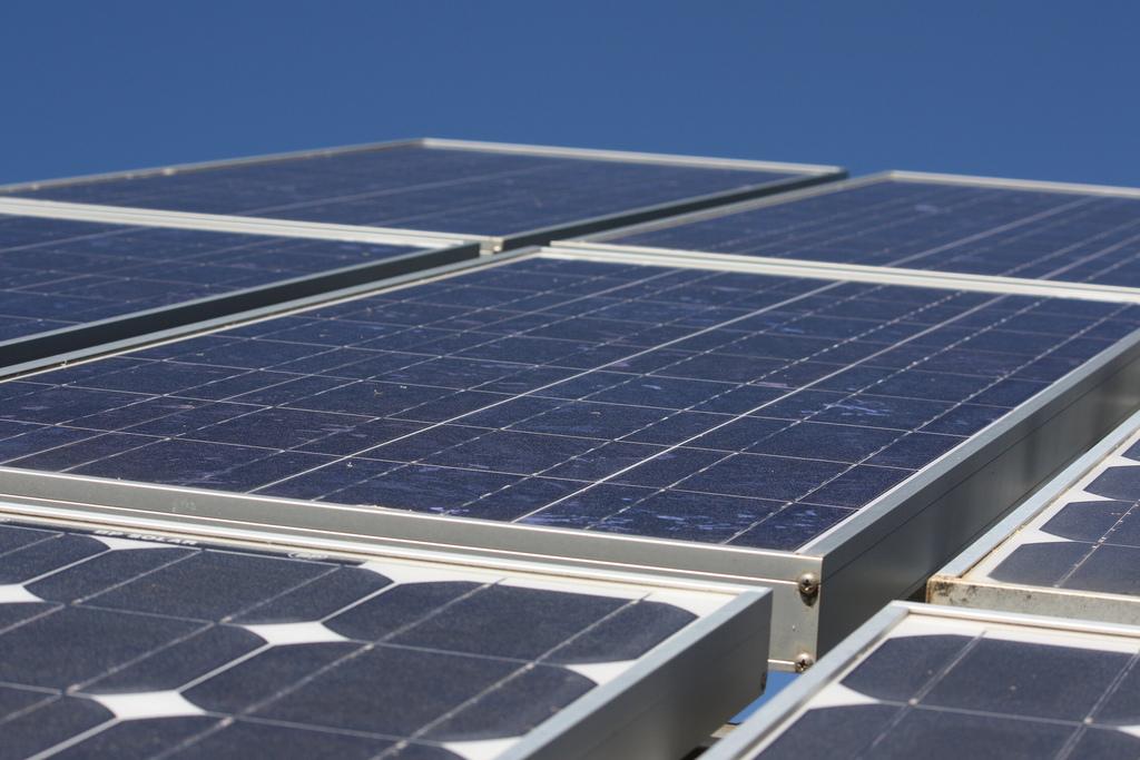 Solar panels. Image credit: Mountain/ \Ash