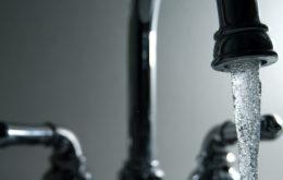 Running faucet. Image credit: Steve Johnson