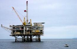 Oil rig. Image credit: Marianne Muegenburg Cothern