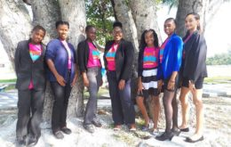 Youth advocates from the Bahamas Plastic Movement. Image via the Bahamas Plastic Movement.