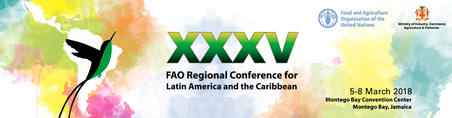 35th FAO Regional Conference for Latin America and the Caribbean. Image via FAO