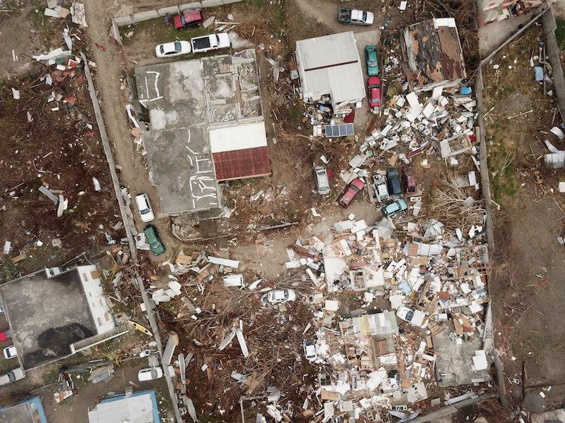St. Maarten after Hurricane Irma. Image: Netherlands Red Cross via IFRC