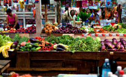 Skeldon Market, Berbice, Guyana. Image credit: KennardP