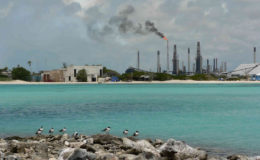 Oil refinery, Aruba. Image: David Stanley