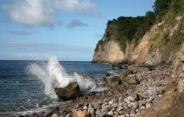 Montserrat shoreline. Image credit: Chuck Stanley
