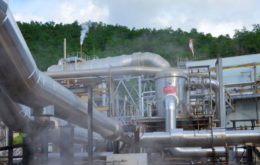 Bouillante geothermal plant, Guadeloupe. Image © OECS.