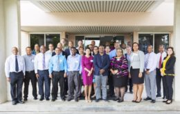 Regional water sector representatives met in Barbados from February 20 to 21, to discuss the development of a regional strategic plan for the water sector. Image via Caribbean News Now.