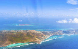 Caribbean Aerial Mapping Imagery. Photo: Marjo Aho via the Nature Conservancy