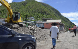 Dominica after Hurricane Maria: Image: Commonwealth Secretariat