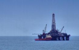 Offshore oil rig. Image: Bryan Burke.