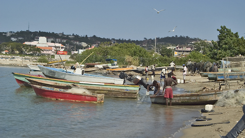 Fishing Village, Jamaica. Image: Gary O. Grimm