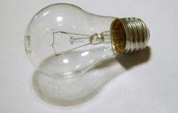 Lightbulb. Image: James Bowe