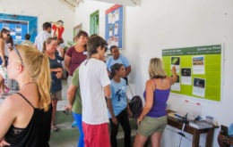Experts from St. Martin and Anguilla shared their work on nature and heritage. Image: Jenn Yerkes