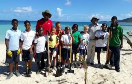 The Seeds of Love Program encourages the youth of the British Virgin Islands to take part in helping restore the country's natural beauty. Image by BVI Tourism Board of Tourism