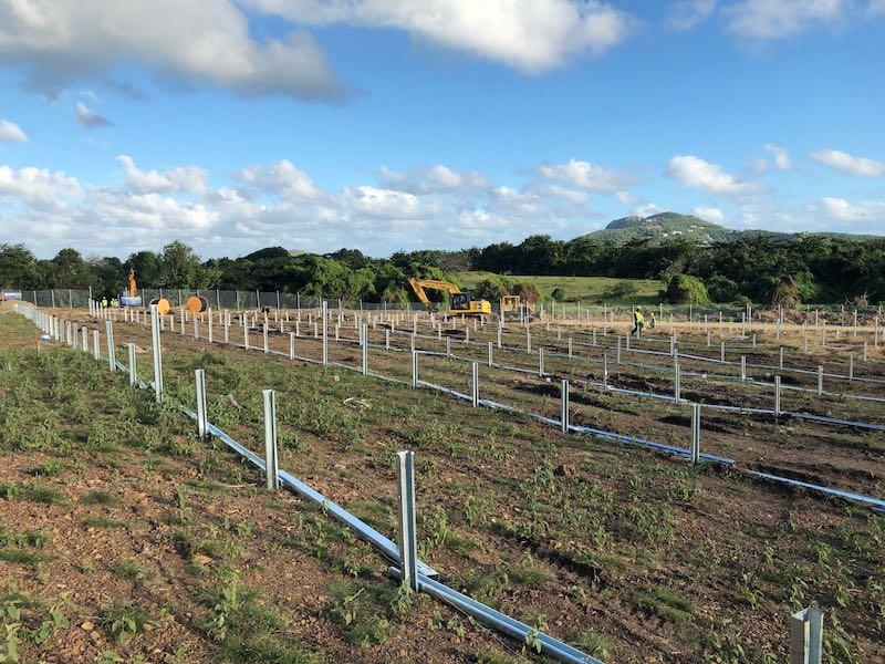 Saint Lucia solar installation. Image: Rocky Mountain Institute via New Energy Events