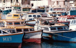 Fishing boats, Bridgetown, Barbados.