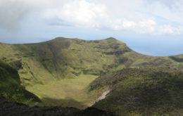 Volcanic crater, St. Vincent. Image: SVG Ministry of National Security via International Renewable Energy Agency