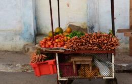 Vegetable cart. Photo: n.karim
