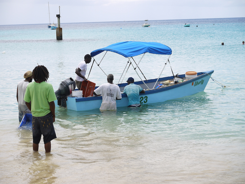 Fishers in Barbados. Image: georg_neu