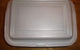 Styrofoam food box. Image: BrokenSphere