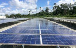 Solar panels, Suriname. Image: via IADB