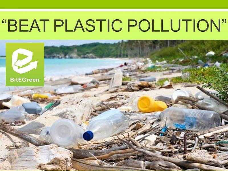 Beat Plastic Pollution - BitEgreen