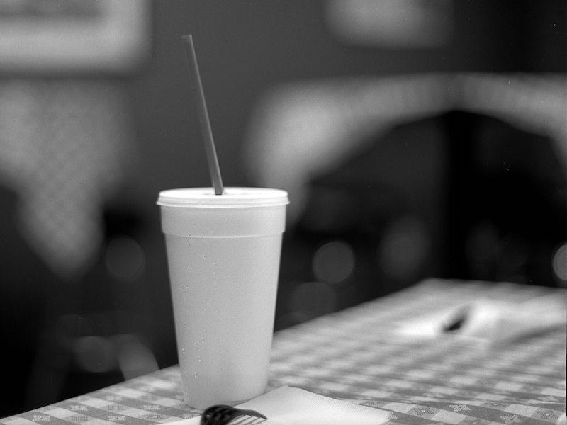 Styrofoam cup. Image: Alan Antiporda