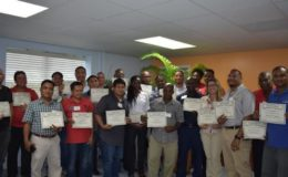Training participants. Image: via Loop Cayman