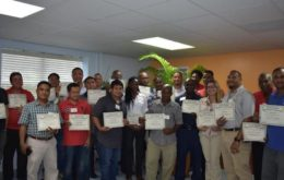 Training participants. Image: via Loop Cayman