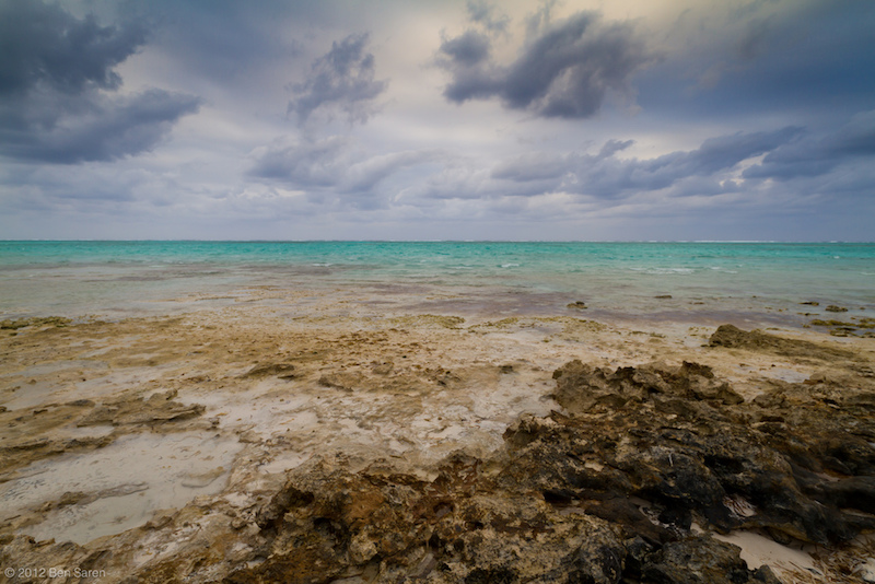 Turks and Caicos seascape. Image: Ben Saren