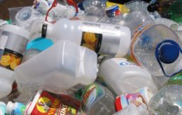 Plastics for recycling. Image: Lisa.