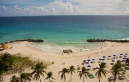 Barbados beach. Image: Ben Geach.