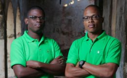 Kemar Codrington and Mikhail Eversley of OASIS Laboratory. Image: courtesy OASIS Laboratory