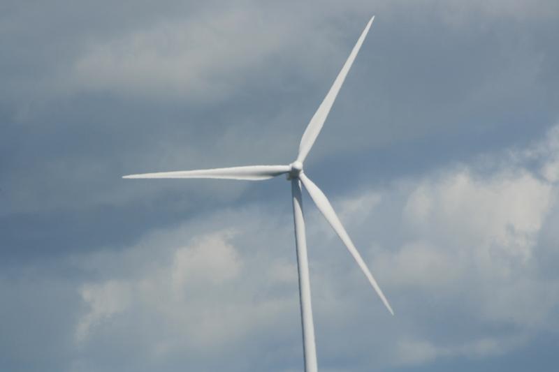 Wind turbine. Image: John McIntyre.