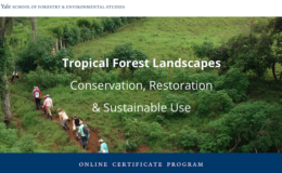 Tropical Forest Restoration online course.