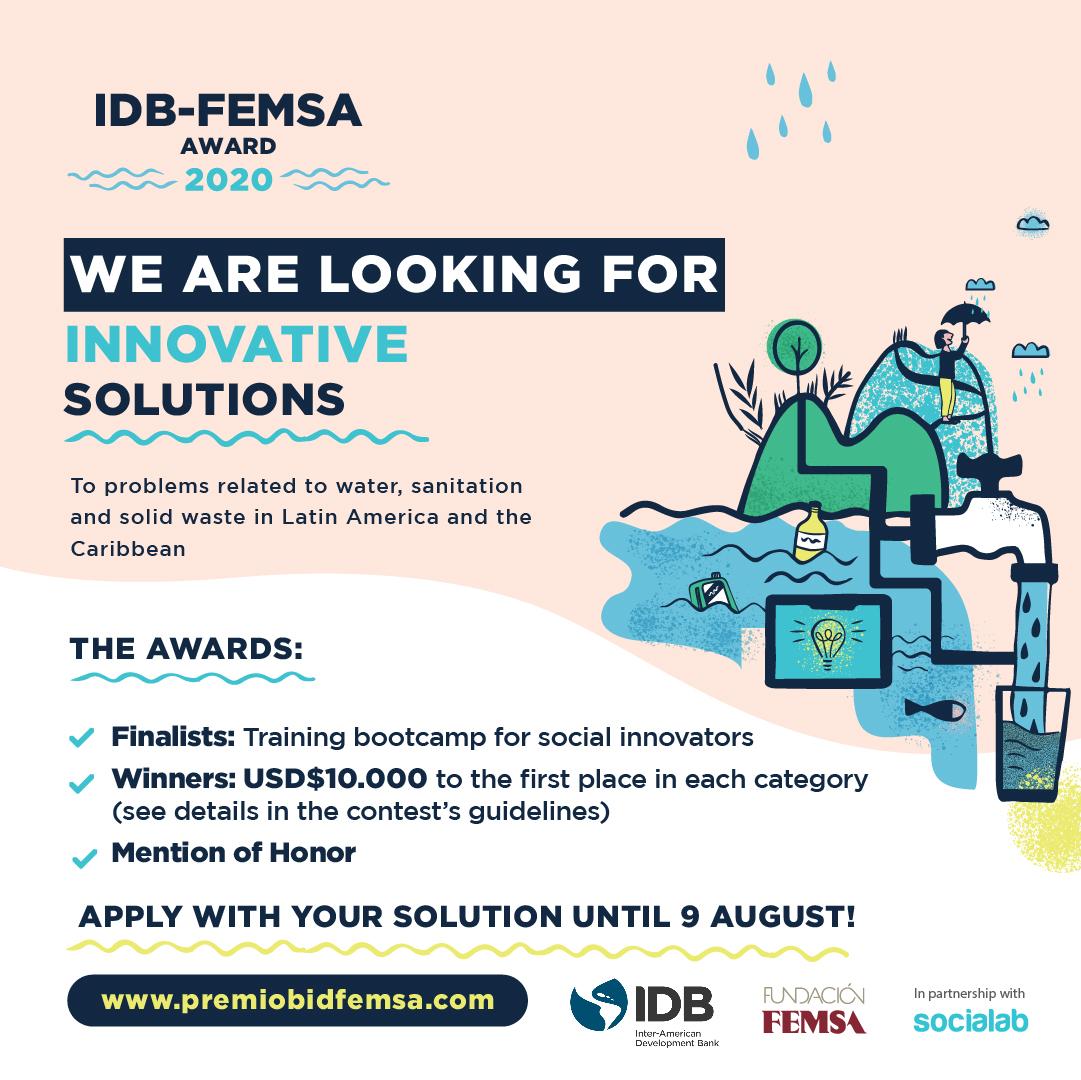 IDB-FEMSA Award 2020